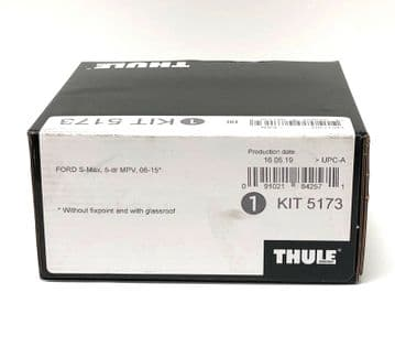 Thule Evo Fitting Kit 5173 Ford S-Max MPV 2006-2015 Normal Roof & Glass Roof