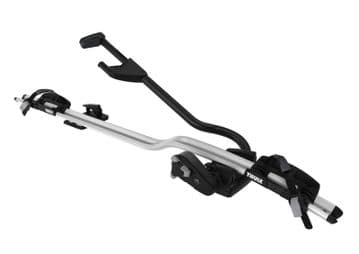 Thule ProRide 598 Bike/Cycle Carrier Silver Grey Roof Mounted Lockable RH/LH Fit
