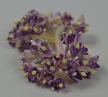 100 LILAC WHITE GYPSOPHILA on THREAD Mulberry Paper