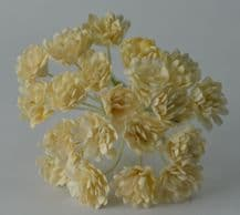 IVORY GYPSOPHILA / FORGET ME NOT Mulberry Paper Flowers