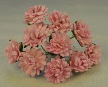 LIGHT PINK ASTER Daisy (1.3 cm) Mulberry Paper Flowers