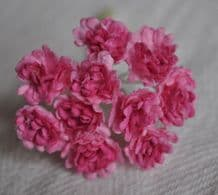 LIGHT PINK PINK CENTER GYPSOPHILA / FORGET ME NOT Mulberry Paper Flowers