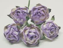 LILAC WHITE PEONY (2.3 cm) Mulberry Paper