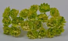 MOSS GREEN IVORY GYPSOPHILA / FORGET ME NOT Mulberry Paper Flowers