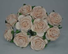 PALE PINK ROSES (2.0 cm) Mulberry Paper Roses