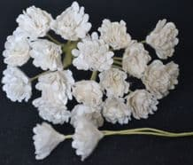 WHITE GYPSOPHILA / FORGET ME NOT Mulberry Paper Flowers