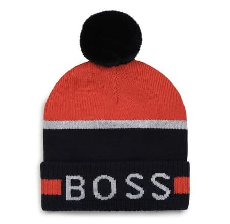BOSS AW21 Toddler Pull on Hat Red