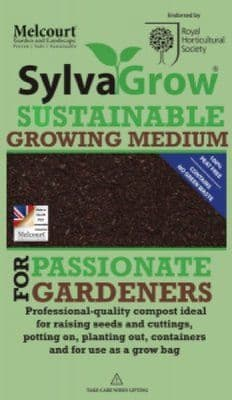 SylvaGrow Sustainable Peat Free Compost 50Ltr