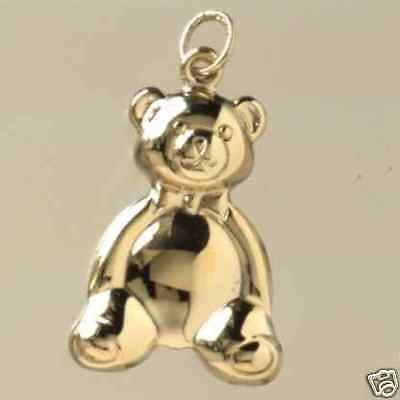 9ct Gold Teddy Bear Pendant