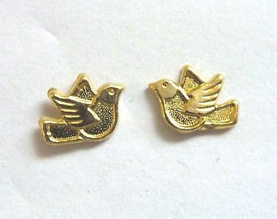 9ct Gold Tiny Dove Stud Earring                                          A57457