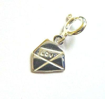 Sterling Silver Love Letter  Charm                                        B83386