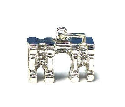 Sterling Silver Vintage Marble Arch London Charm                           36333