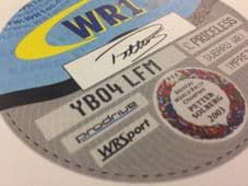 WR1 Replacement Tax Disc