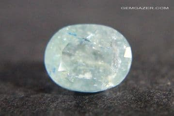 Afghanite, faceted, Afghanistan. 1.17 carats.