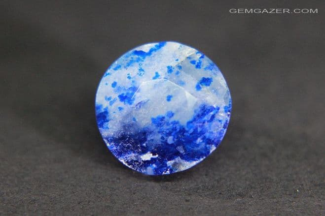 Afghanite, faceted, Afghanistan. 3.54 carats.