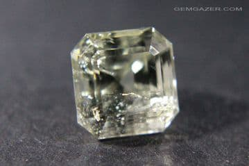Amblygonite, faceted, Brazil.  4.03 carats.  ** SOLD **