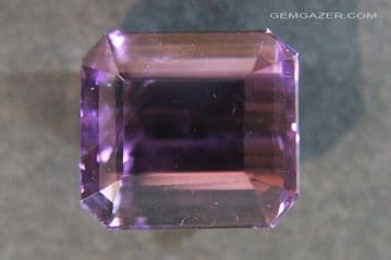 Amethyst, faceted, Brazil.  12.70 carats.