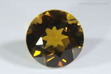 Andalusite, faceted, Brazil. 1.49 carats.