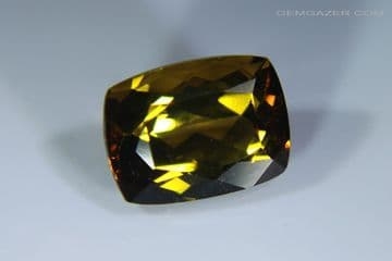 Andalusite, faceted, Brazil. 1.99 carats.  ** SOLD **