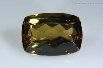 Andalusite, faceted, Brazil. 2.86 carats.