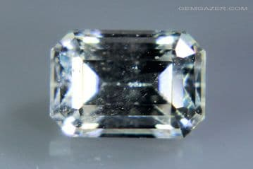 Anglesite, colourless  faceted, Morocco. 1.13 carats.