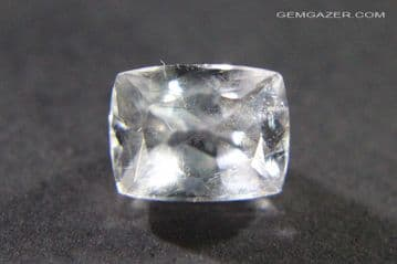 Apatite, colourless, faceted, Pakistan. 2.12 carats.  ** SOLD **