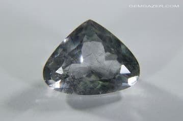 Apatite with Actinolite inclusions, faceted, Brazil. 2.47 carats. ** SOLD **