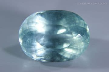Aquamarine, faceted, Brazil. 12.03 carats. (See Video)