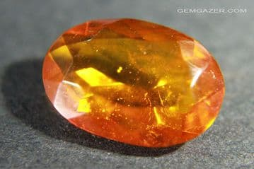 Baltic Amber, faceted.  3.61 carats.  ** SOLD **
