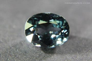 Blue Spinel, faceted, Myanmar. 1.29 carats.