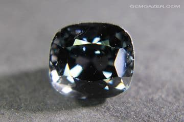 Blue Spinel, faceted, Myanmar. 2.29 carats.
