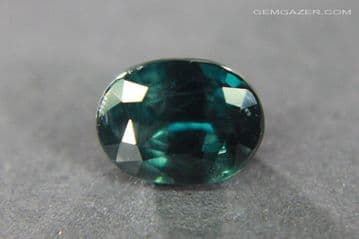 Blue to red colour-change Garnet, faceted, Tanzania. 1.30 carats.