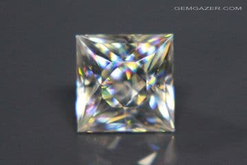 Cerussite, colourless faceted, Namibia. 3.02 carats (See Video).