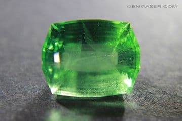Chrome Fluorite, faceted, Colombia.  15.75 carats. ** SOLD **
