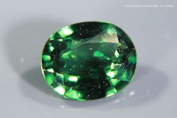 Colour-change Garnet, green to purple, faceted, Tanzania. 1.22 carats. (Video)