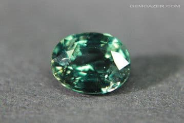 Colour change Garnet, green to red, faceted, Tanzania. 1.09 carats. (See Video)