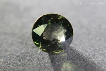 Colour change Garnet, olive-green to red, faceted, Tanzania. 1.11 carats.