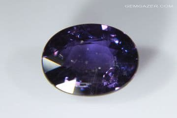Colour-change purple to red Sapphire, faceted. Tanzania. 1.66 carats.