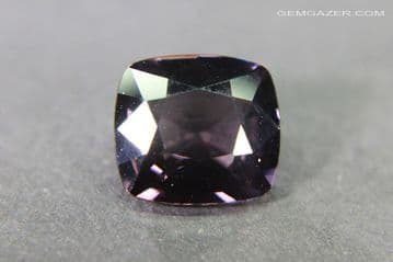 Colour-shift burgundy Spinel, faceted, Myanmar. 2.30 carats.