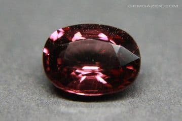 Colour-shift Garnet, pinkish-purple to red, faceted, Tanzania. 2.24 carats. ** SOLD **