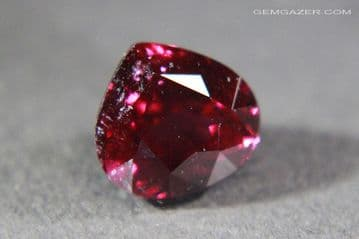 Colour-shift Malaia Garnet, pinkish-red to purple-red, faceted, Tanzania. 3.02 carats.