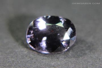 Colour-shift Spinel, faceted, Tanzania. 1.11 carats.
