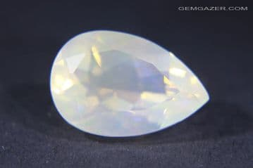 Contra- Luz Opal, Facted, Mexico. 4.12 carats. (See Video)