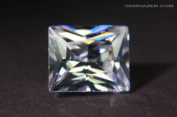 Cubic Zirconia (CZ), colourless faceted. 9.52 carats.  ** SOLD **