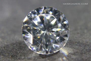 Cubic Zirconia, faceted.  12.12 carats.
