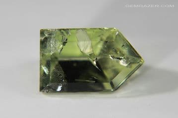 Heliodor Beryl, green faceted, Brazil. 4.29 carats.  ** SOLD **