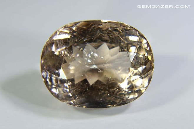 Heliodore Beryl, faceted, Brazil. 4.16 carats.