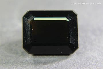 Indochinite Tektite, faceted, Indonesia. 1.82 carats.  ** SOLD **