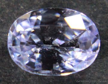 Lavender Sapphire, faceted, Madagascar.  1.12 carats.  ** SOLD **