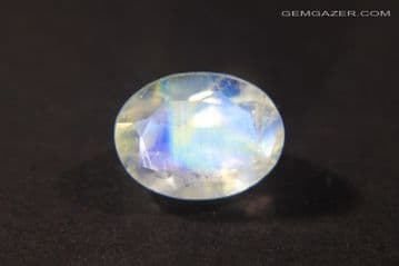Orthoclase Moonstone, faceted, India. 1.22 carats